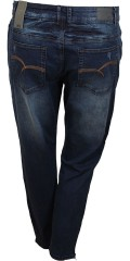Veto - Camille regular 7/8 jeans. Smart jeans with lots of stretch and nice details, belt straps