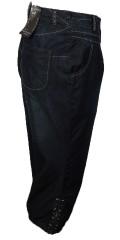 Cassiopeia - Stumpebuks brin jeans, god vidde i benene / 4 lommer og regulerbar elastik i taljen