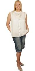 DNY (MARC LAUGE) - Abelone skjorte bluse uden ærmer
