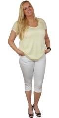 DNY (MARC LAUGE) - T-shirt med korte ærmer og rund hals