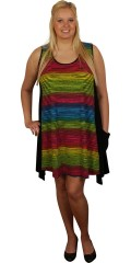 Handberg - Tunica dress without sleeves and with 1 pocket, a-shaped