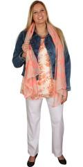 Zhenzi - Flot og farverigt tørklæde med print